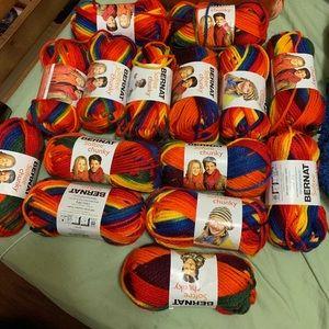 Lot of rainbow yarn! Moving destash!!